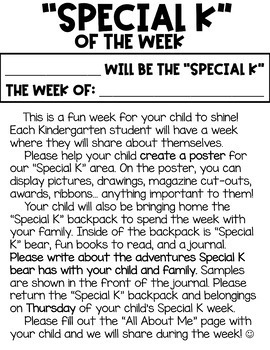 Special K of the Week