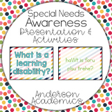 Special Needs Awareness Presentation - Learning Disability