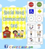 Special Needs Communication Cards - 7 pages