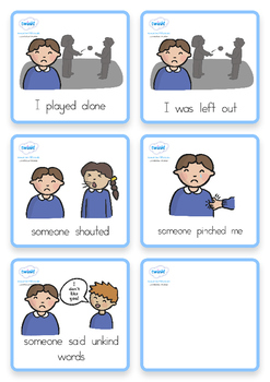 Special Needs Communication Cards Explanations