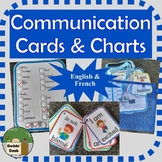 Special Needs Communication Cards and Charts   French and English