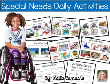 Special Needs Daily Activities