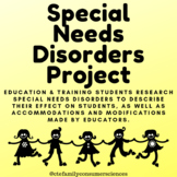 Special Needs Disorders Project