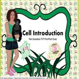 Cell Plant and Animal Quiz Life Science Biology SPED/AUTISM/ELD/ID/SLP