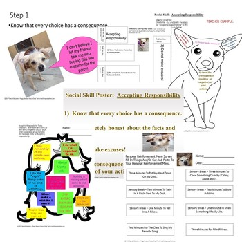 Special Education Rescue Dogs'  Accepting Responsibility Powerpoint