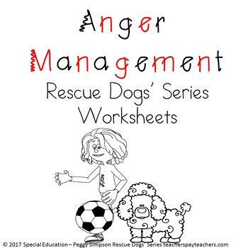 Anger Management Worksheets Teaching Resources | Teachers Pay Teachers