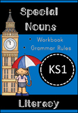Special Nouns Workbook and Rules Display Cards