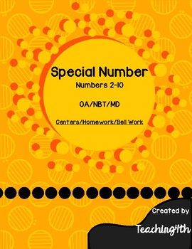 Special Number - 4th Grade Math