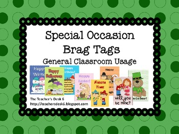 Special Occasion Brag Tags