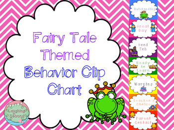 Special Order - Fairytale Themed Behavior Chart