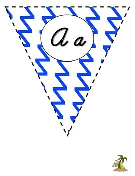 Special Order: Royal Blue and Yellow Cursive Pennant Banner