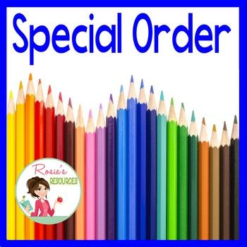 Special Order for EG