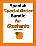 Special Order for Stephanie - Present and Imperfect Progressives