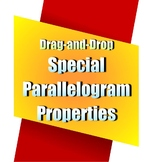 Special Parallelogram Properties Drag-and-Drop Activity