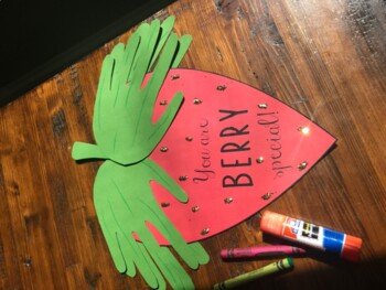 Berry Special Person Writing Craft