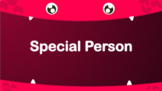 Special Person interview in ENGLISH with Chinese word walls