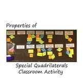Special Quadrilateral-Classroom Activity-Interactive Bullitin Board
