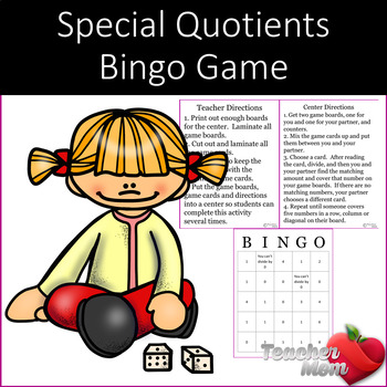 Special Quotients