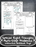 Special Right Triangles- Multi-Step Problems Notes Handout