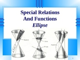 Special Relations And Functions. Ellipse