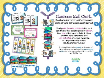 Special Request AR Goals Classroom Wall Chart {1st-2nd Grade Ed.}