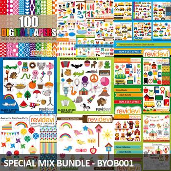 Special Request Clip Art - Mix Collection Bundle 1