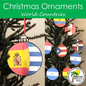 Christmas Special Request Countries Ornaments