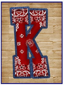 Special Request- Letter K