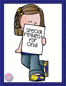 Special Request for Cindi