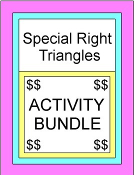 Special Right Triangle BUNDLE