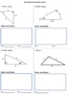 Special Right Triangles Assessment/Assignment/Worksheet