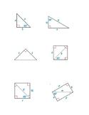 Special Right Triangles Bingo