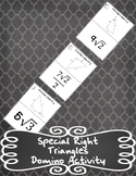 Special Right Triangles Domino Activity