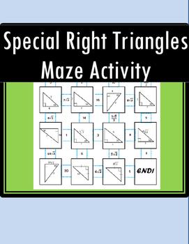 Special Right Triangles Maze