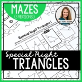 Special Right Triangles Mazes