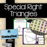 Special Right Triangles - Pi Elimination!