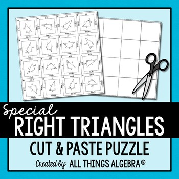 Special Right Triangles Puzzle