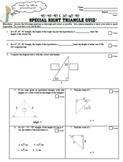 Special Right Triangles Quiz