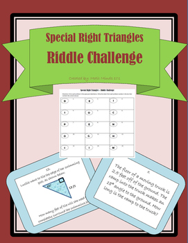 Special Right Triangles Riddle Challenge