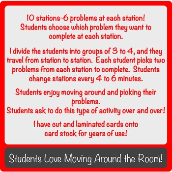 Special Right Triangles Station Activity