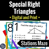Special Right Triangles Activity | Digital and Print