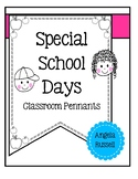 Special School Days - Classroom Pennants