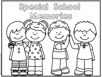 Special School Memories End Of School Booklet