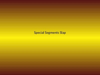 Special Segments Slap the Board Game