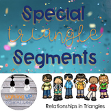 Special Segments in Triangles Group Task Cards