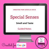 Special Senses: Smell and Taste Digital Resource: On GOOGL