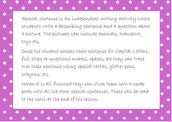 Special Sentences