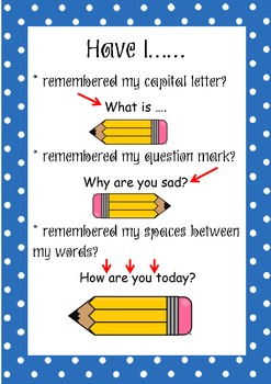 Special Sentences + Resource posters