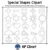 Special Shapes Clipart [KPclipart]
