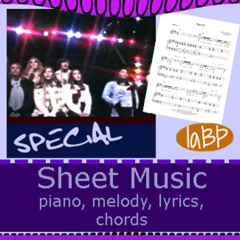 Sheet Music: Special
